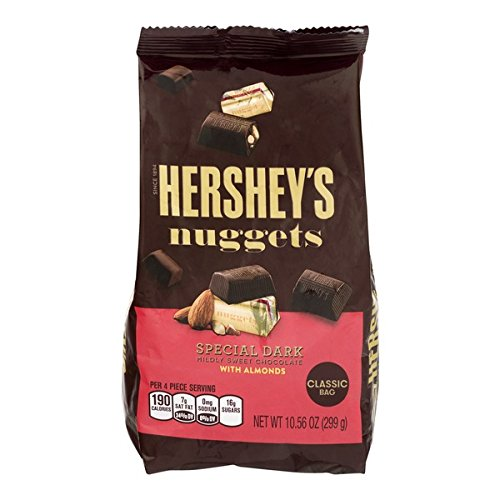 Hershey's Nuggets Special Dark With Almond, 299g