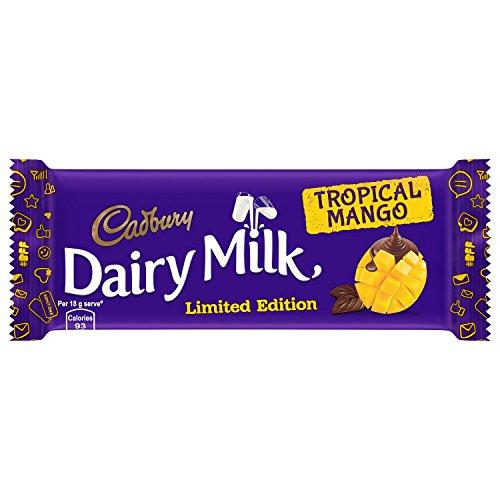 Cadbury Dairy Milk Tropical Mango Chocolate, 36g (Pack of 12)
