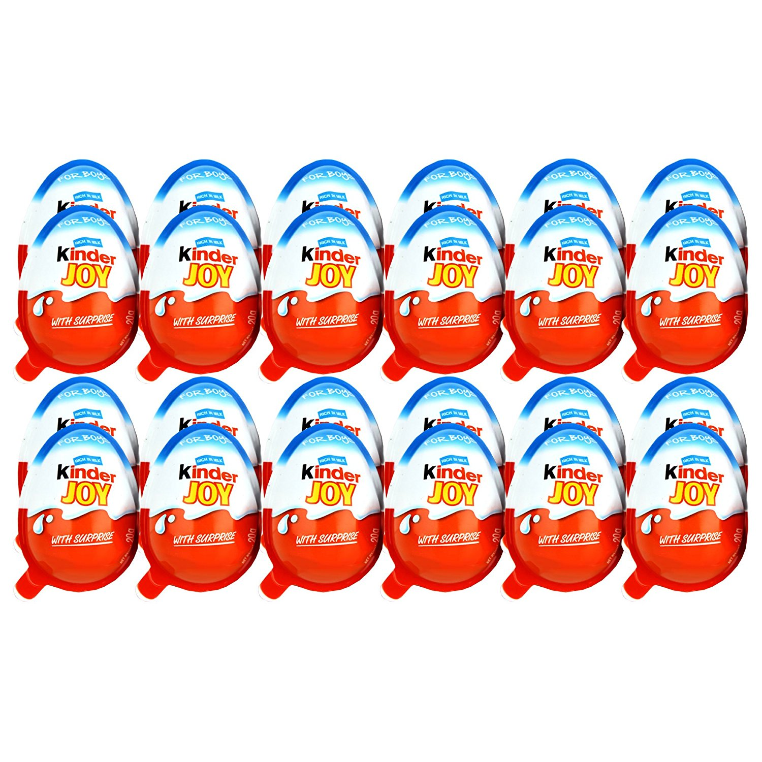 Gift Hampers Kinder Joy Chocolates For Boys 24 Pieces Only Tropicana Slim Stevia