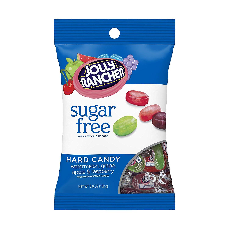 Jolly Rancher Sugar Free Hard Candy Assortment Peg Bag - 102g