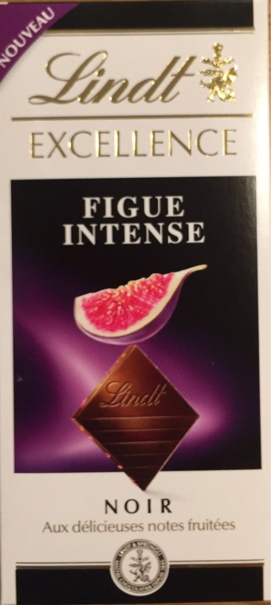 Lindt EXCELLENCE Intense Figue Dark Chocolate