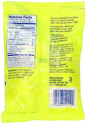 GoLightly Lemon Sweetened with Splenda Hard Candies 78 gm