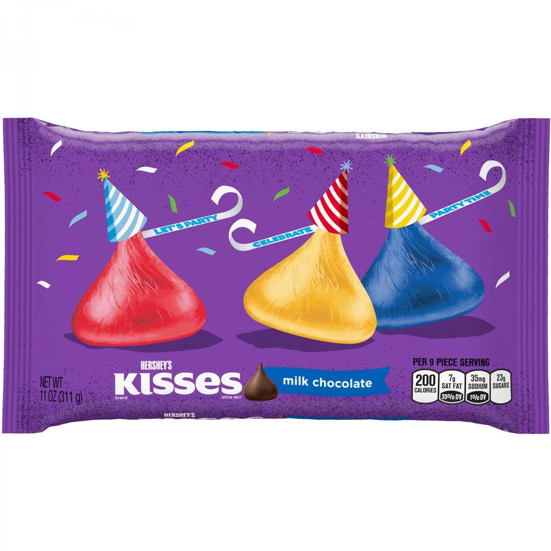 Milk Chocolates - Hershey's Kisses Milk Chocolate, 311g ...