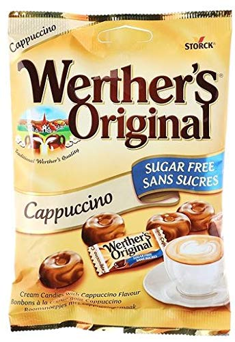 Mints - Werther's Storck Cappuccino Sugar-Free Candy (70 g ...