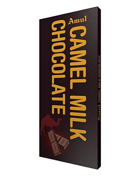 Amul Camel Milk Chocolate Bars  (150 g)