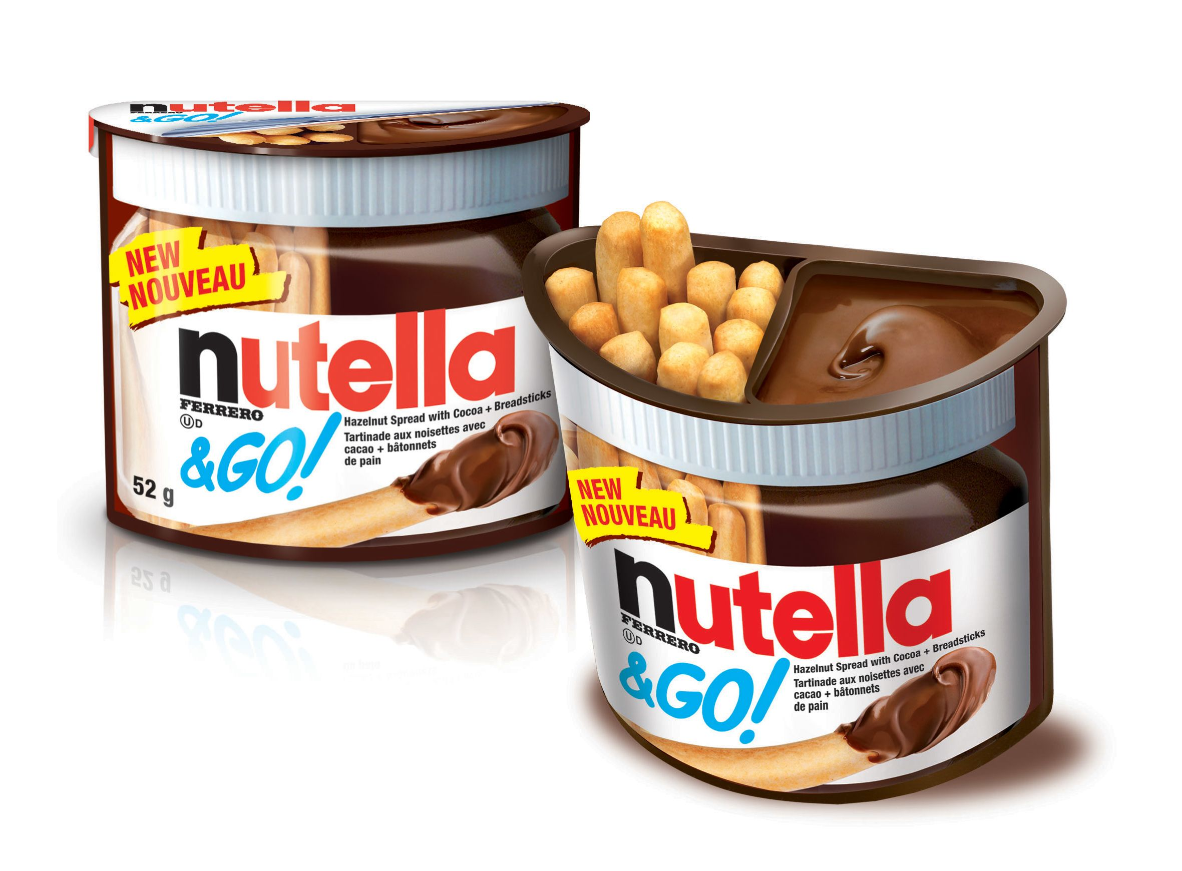 Home :: Bakery :: Wafers :: Ferrero Nutella & Go Hazelnut Spread With Cocoa  & Breadsticks, 50g Pack Of 2