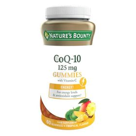Nature's Bounty CoQ-10 with Vitamin C Gummies, 125mg, 60 Gummies