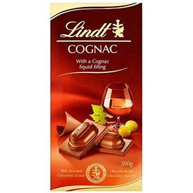 Lindt Cognac Liqueur Chocolate Bar 100 g