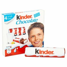 Kinder Chocolate 4 Bars, 50g