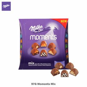 Milka Moments Mix Flavors, 97 g