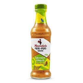 Nando's Peri Peri Sauce, Lemon and Herb, 250g, Product of The Netherlands