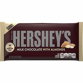 Hershey's Milk Chocolate with Almonds Bar 192g