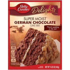 Betty Crocker Super Moist German Chocolate Cake Mix 432G