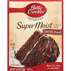 Betty Crocker Super Moist Devils food Cake Mix 432G
