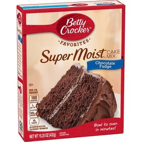 Betty Crocker Super Moist Chocolate Fudge Cake Mix 432G
