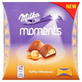 Milka Moments Toffee Wholenut 97 g