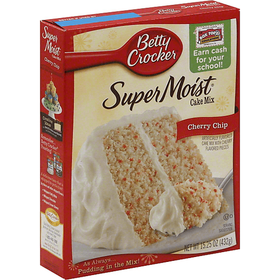 Betty Crocker Super Moist Cherry Chip Cake Mix 432G
