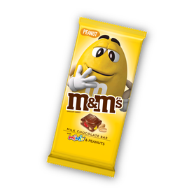M&Ms Peanut Chocolate Bar 100g
