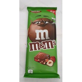 M&Ms Hazelnut Chocolate Bar 100g