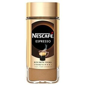Nescafe Espresso-100% Pure Arabica Coffee Rich With Velvety Crema Instant Coffee  (100 g)