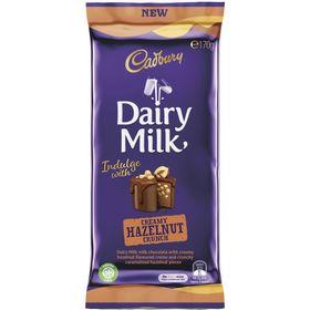 Cadbury Dairy Milk Creamy Hazelnut Crunch 170g