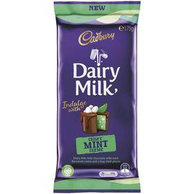 Cadbury Dairy Milk Crispy Mint Creme Slab 175g