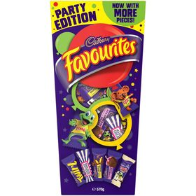 Cadbury Favourites Party Pack 570g