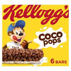 Kellogg's Coco Pops Cereal Milk Bars 6 x 20g