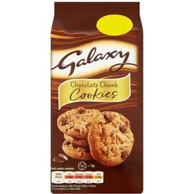 Galaxy Chocolate Chunk Cookies, 180g