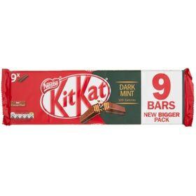 Kit Kat Dark Mint 9 X 2 Finger Chocolate Bar (9 X 20.7 g) 186.3 g