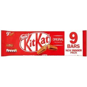 Kit Kat Original 9 X 2 Finger Milk Chocolate Bar (9 X 20.7 g) 186.3 g