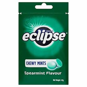 Wrigley's Eclipse Chewy Mints Spearmint Flavour Packet, 45g