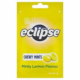 Wrigley's Eclipse Chewy Mints Minty Lemon Flavour Packet, 45g
