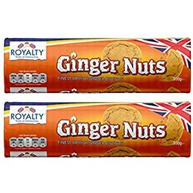 Royalty Ginger Nuts Biscuits 400 Grams (Pack Of 2)