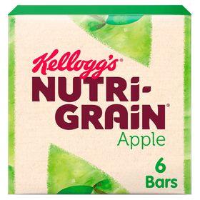 Kellogg's Nutri-Grain Apple Cereal Bars 6 Pack (37 Grams)