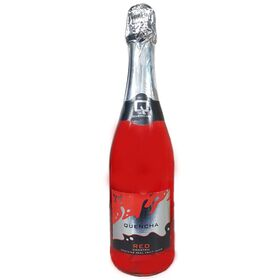 Quencha Sparkling Red Grape Real Fruit Drink, 750 ml