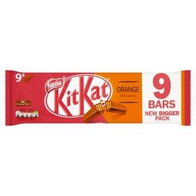 Kit Kat Orange 9 X 2 Finger Milk Chocolate Bar (9 X 20.7 g) 186.3 g
