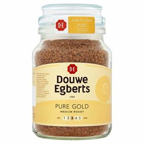 Douwe Egberts Pure Gold Medium Roast Coffee Bottle, 95g