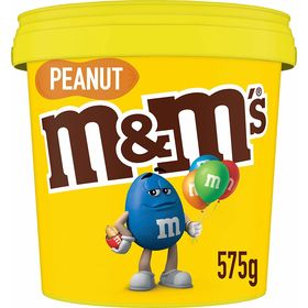 M&M's Peanut Chocolate Party Size Bucket (575g)