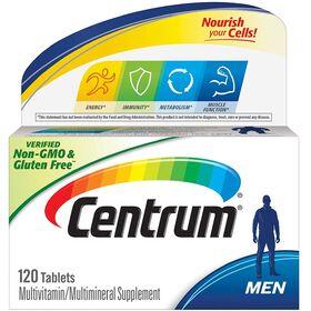 Centrum Multivitamin Supplement, Men - 120 Tablets