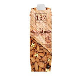 137 Degrees Almond Milk With Organic Coconut Flower, 1L