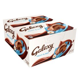 Galaxy Fruit & Nut Chocolate Bar 36g x24pcs