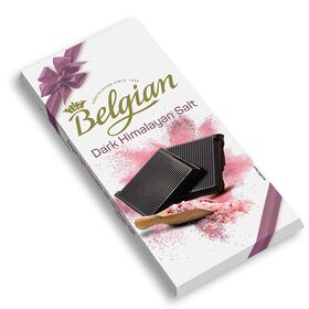 The Belgian Dark with Himalayan Salt Chocolate Bar, 100g