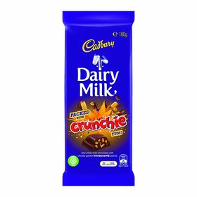 Cadbury Dairy Milk Crunchie Block 180g