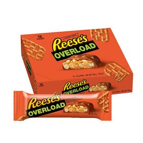 Reese's Overload, 42 g - Pack of 18 Chocolate Box