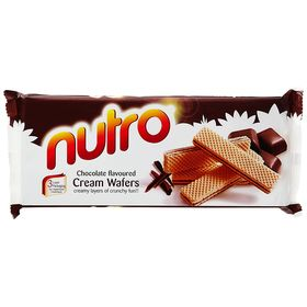 Pack of Two NUTRO Orange Flavoured Cream WAFERS (Pack of 2) 75 GM Each