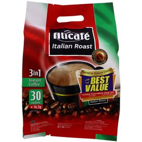 Alicafe Italian Roast 3 in 1 Instant Coffee 30 x 16.5g