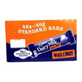 Cadbury Dairy Milk Whole Nut Box of 45gx48pcs