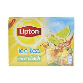 Lipton Lemon Flavoured Iced Tea Bags 224 gm