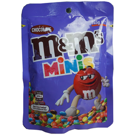 M&M's Minis Chocolate Pouch 145g